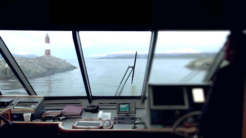 Les Eclaireurs Lighthouse, Beagle Channel Footage