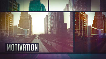 Urban Glitch Motivation Opener After Effects Template