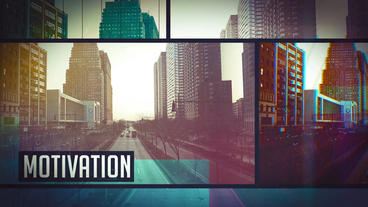 Urban Glitch Motivation Opener After Effects Project