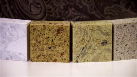 Kitchen counter tops made from natural stone, granite, marble and quartz for kit Live Action