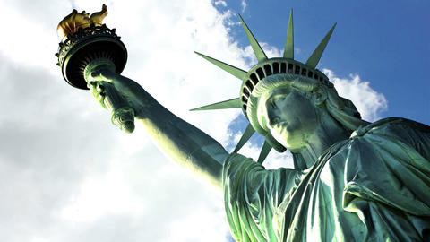 Statue liberty 1 Stock Video Footage