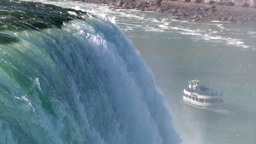Maid of the Mist Stock Video Footage