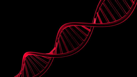DNA with Alpha Channel Animation