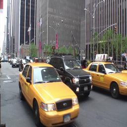 Manhattan Traffic 3 Stock Video Footage