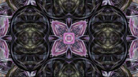 glassy flower pattern,crystal glass texture,gorgeous orient religion fancy backg Animation
