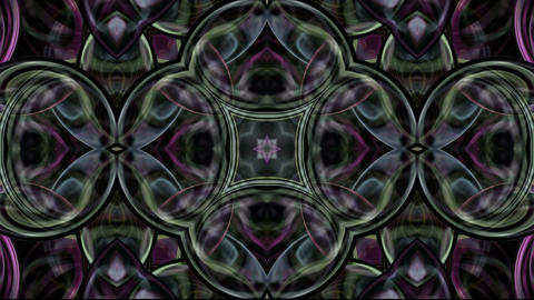 glassy flower pattern,crystal glass texture,gorgeous... Stock Video Footage