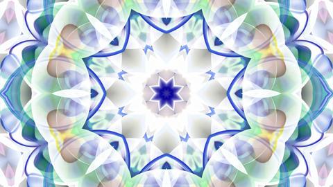 glass flower fancy pattern,Buddhism lotus... Stock Video Footage