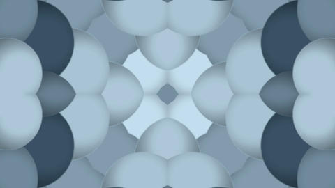 plastic balls shaped flower pattern,Buddhism lotus... Stock Video Footage