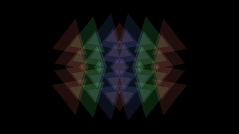 plastic triangle mosaics,toy brick,buddhism lotus... Stock Video Footage