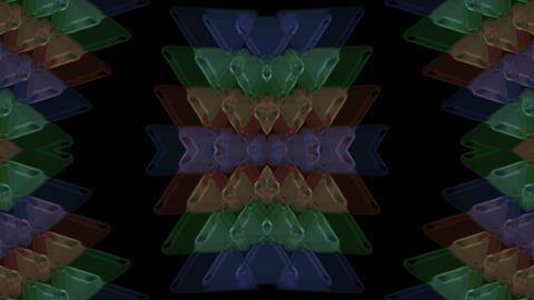buddhism lotus pattern,plastic triangle... Stock Video Footage