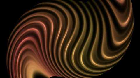 swirl metal lines,wave,abstract soft curve... Stock Video Footage