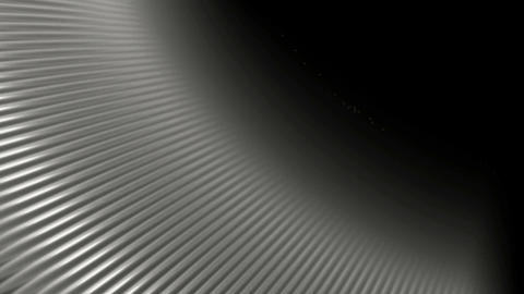 silver stripes plate,silver metal... Stock Video Footage