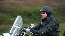 Biker Stock Video Footage