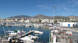 Benalmadena Marina 1 Stock Video Footage