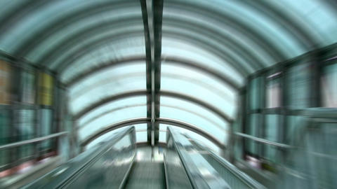 Moving Staircase stock footage