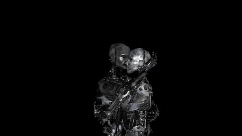 Cyber-Romantic Intro Stock Video Footage