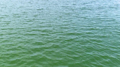 View of the water surface Stock Video Footage