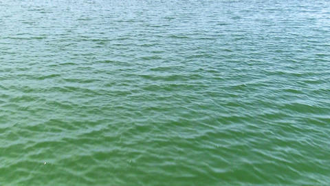 View of the water surface Footage