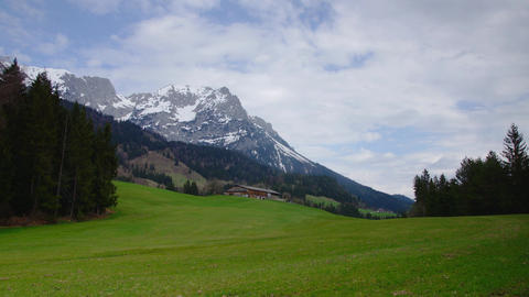Austrian Tirol landscape Stock Video Footage