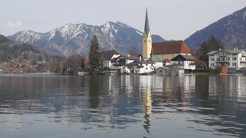Tegernsee Stock Video Footage