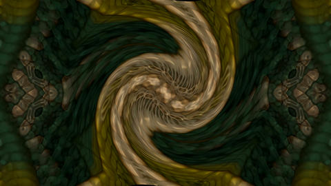 swirl twisted monster body,ancient retro metal shield... Stock Video Footage