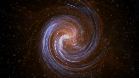 swirl Milky Way,Galaxy,rotation energy... Stock Video Footage