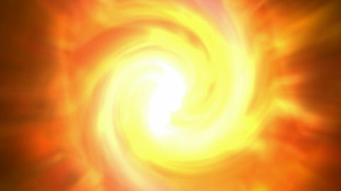 swirl fire cyclones shaped tunnel hole in cosmos,Solar... Stock Video Footage