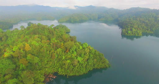 Aerial photography around Department of National Parks,Wildlife and Plant Conser Footage