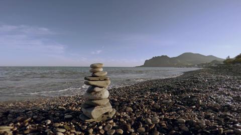 zen balance stones Footage