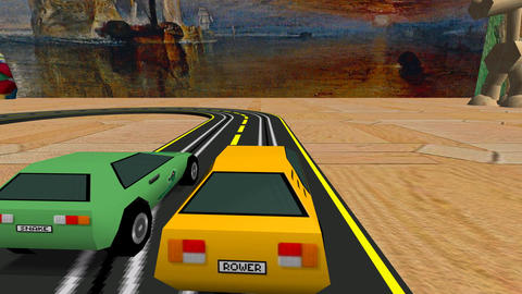 Slot Turbo Cars Racing