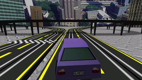 Slot Turbo Cars Racing Animation