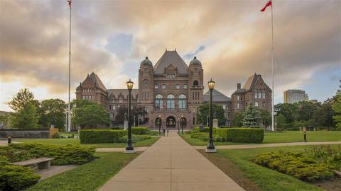 Toronto, Canada - Timelapse - The Legislative Assembly of Ontario Footage