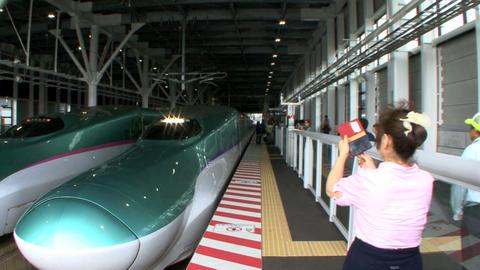 Hokkaido shinkansen Footage