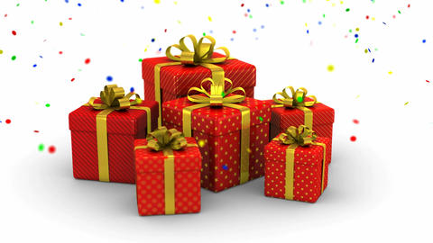 Gift Boxes Animation Bild