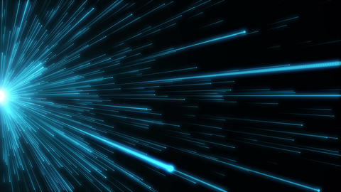 Fiber network titles technology science abstract background loop 03 Animation