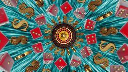 Casino Roulette Dollar & Dice Animation