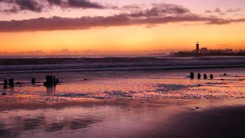 Lighthouses Pacific Coast California Walton Lighthouse Santa Cruz Footage