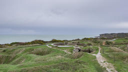 Grandcamp-Maisy, France - Timelapse - The Pointe du Hoc Footage