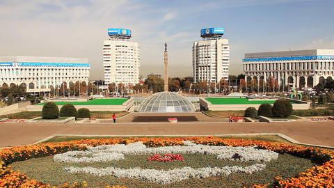 Almaty Satpaeva Footage