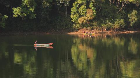 Lake Boats Footage