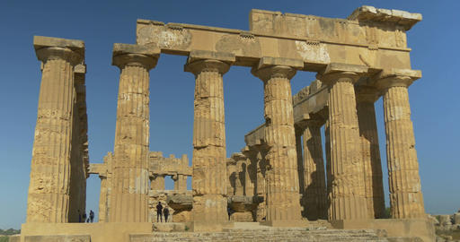 Selinunte, Hera Temple Front Footage