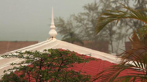 Rain Sihanoukville Footage