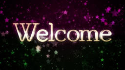 Welcome 105 Animation