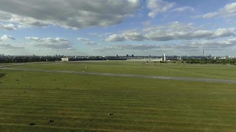 AERIAL   Tempelhof Approach Footage
