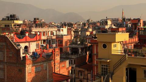 Sunny Kathmandu Footage