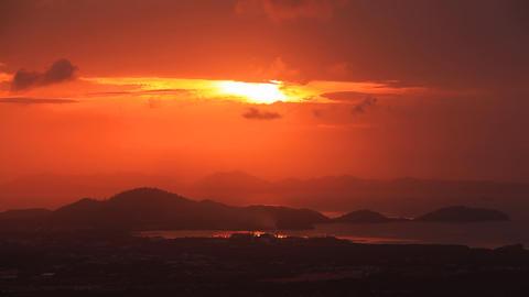 Sun rise phuket Footage