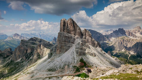 Dolomite's time lapse. Full HD Live Action