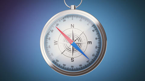Video with compass Animation