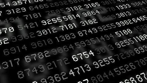 Big data stream computer gray Animation