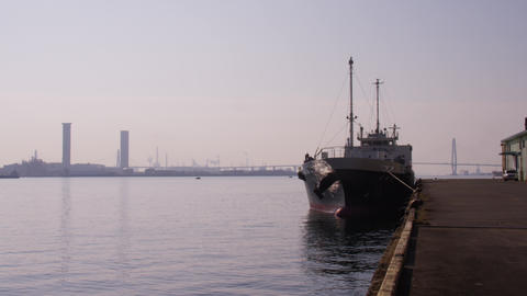 愛知県 名古屋港 Footage